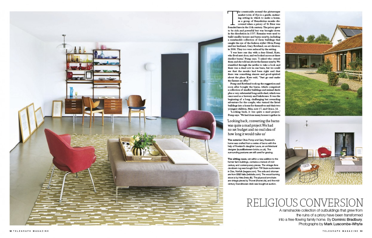 Editorial - Pomphaus - Interior design